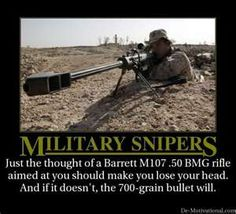 Military snipers