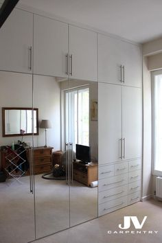 Fitted Wardrobes and other Built-in furniture best in London. We specialised in Fitted Bedrooms, Alcove Cupboards, bookshelves and other Fitted Furniture Wardrobe Design Bedroom, Room Design Bedroom, Bedroom Wardrobe, Bedroom Layouts, Home Room Design, Bedroom Decor, Bedroom Storage, Mirror Bedroom, Bedroom Cupboard Designs