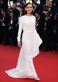 Marion Cotillard in Christian Dior pre-Fall/Winter 2013-2014 for the The Immigrant red carpet at Cannes.