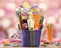 Ice Cream Social at Wine Country Gift Baskets