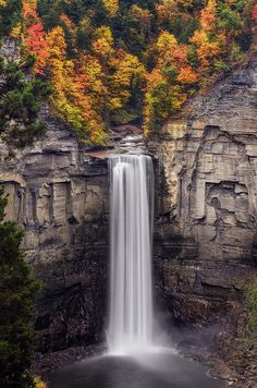 Taughannock Falls State Park, Ithaca, New York.  Photo: Mark Papke