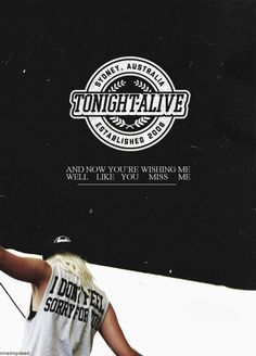 tonight alive | Tumblr