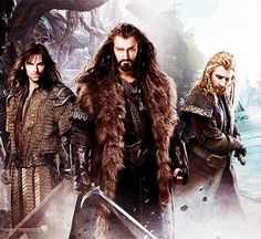 The Hobbit Dwarves are so much sexier than The Lord of the Rings Dwarves!  ;)
