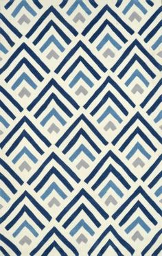 $5 Off when you share! Rugs USA Keno ACR215 Blue Rug