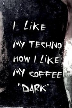 Coffee and Techno