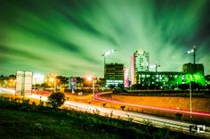 The Smooth Grass Above, Accra at night #Ghana