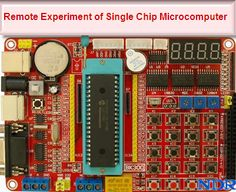 Remote experimental and development system of #SingleChipMicrocomputer: A remote interactive experiment system of single-chip microcomputer based on LabVIEW and IAP. The hardware of the system is designed and built with Atmega16L and the monitoring and control interface is developed by using the graphical language, LabVIEW. In addition to the operating system and display system, the system consists of power supply, crystal oscillator, reset, and other basic modules.