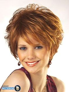 18 Modern Short Hair Styles for Women Hairstyle Ideas for Women Over 40 – Farbige Haare Super Short Hair, Medium Short Hair, Short Hair With Layers, Short Curly Hair, Medium Hair Styles, Curly Hair Styles, Thin Hair, Short Styles, Layered Hair