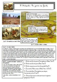 L'Antiquité: la romanisation de la Gaule - La classe de Mallory