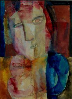 Maternidade, 1922 Lasar Segall (Lituânia, 1891- Brasil, 1957) aquarela e grafite sobre papel