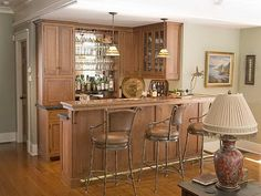 Home Bar Designs and Layouts Cabinetry