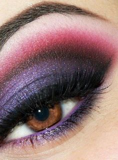love the purple... My eyes are almost that color, and I use purple eye liner alot...sometimes combined with purple shadow- sometimes not. I get compliments all the time...