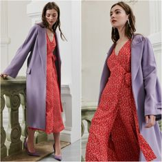I Am Studio Spring/Summer 2018 RTW Fashion 2018 Trends, Spring Summer 2018, Duster Coat, Wrap Dress, Vogue, Photo And Video, Studio, Jackets, Instagram