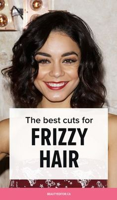 The best haircuts to tame big, frizzy hair, according to celebrity hairstylist Bill Angst. Frizzy Short Hair, Thin Wavy Hair, Wavey Hair, Thin Hair Cuts, Fine Curly Hair, Frizzy Hair Styles, Thick Coarse Hair, Wavy Haircuts Medium, Thick Curly Haircuts