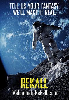 КиноМелочи: Еще Постеры Вспомнить всё Total rekall posters