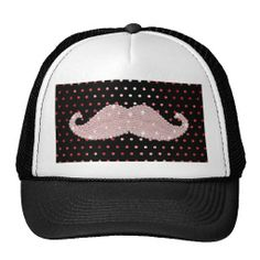 ==>Discount          Funny Girly Pink Bling Mustache Polka Dots Pattern Hats           Funny Girly Pink Bling Mustache Polka Dots Pattern Hats online after you search a lot for where to buyDiscount Deals          Funny Girly Pink Bling Mustache Polka Dots Pattern Hats Online Secure Check ou...Cleck Hot Deals >>> http://www.zazzle.com/funny_girly_pink_bling_mustache_polka_dots_pattern_hat-148448896963579632?rf=238627982471231924&zbar=1&tc=terrest
