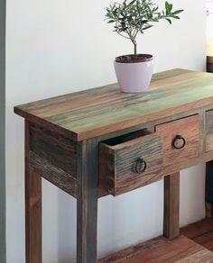 Консольный столик из массива тика Bebe (painted)