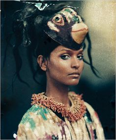 Paolo Roversi for The New York Times Style Magazine '07 {with almost too beautiful to look at Liya Kebede}