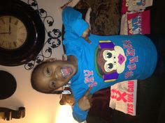 My baby Sky Munkey she wanted her own colors lol