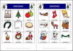 MATERIALES - Actividades para Navidad: Bingo sobre el Belén.    Conjunto de actividades para trabajar la unidad didáctica sobre la Navidad.    http://arasaac.org/materiales.php?id_material=803