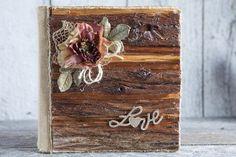 Rustic album photo/Wood wedding rustic by lechoixdelamariee