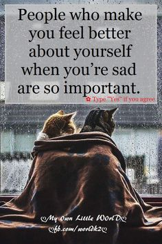 #people #feel #better #yourself #sad #important