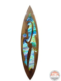 Art Glass Marri Surfboard 01 - product images $7500