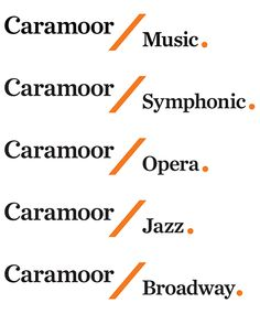 Pentagram's Paula Scher has designed an elegant new identity for Caramoor Center for Music and the Arts that is inspired by the institution's unique setting and history and the forms of musical notation. Paula Scher, Identity Design, Visual Identity, Logo Design, Brand Identity, Hierarchy Examples, Brand Architecture, Extension Designs, Type Posters