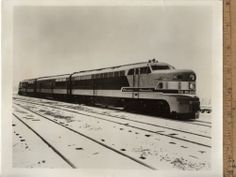 C1950s Photograph The Olympian Hiawatha Engines Milwaukee Road News Bureau | eBay