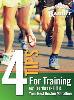4 tips for training for Heartbreak Hill & your best Boston Marathon Boston Marathon, Jogger, College Students, Fitness Motivation, Baseball Cards, Running, Learning, Tips, Core