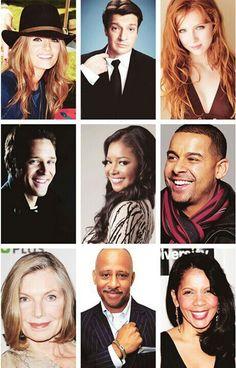 Castle Tv Series, Castle Tv Shows, Alexis Castle, Seamus Dever, Tamala Jones, Emission Tv, Molly Quinn, Richard Castle, Castle Beckett