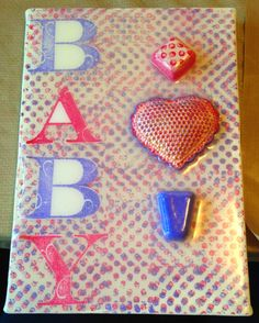Kristi's Creative Cafe': Cool2Cast & Ann Butler Blog Hop! Baby Canvas