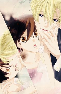 Tamaki x Haruhi OHSHC Ouran Highschool host club anime manga