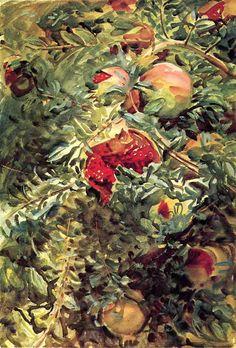 Pomegranates - John Singer Sargent
