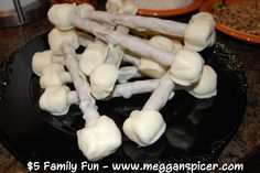 Edible Bones - project cost: $5  See these and more family friendly ideas for $5 or less at www.megganspicer.com & www.facebook.com/megganspicer
