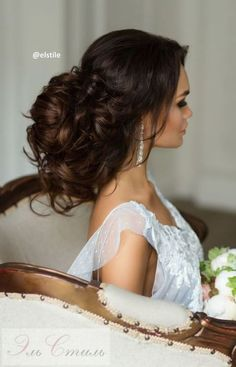 Best Wedding Hairstyles : Featured Hairstyle: Elstile; www.elstile.com/; Wedding hairstyle idea.