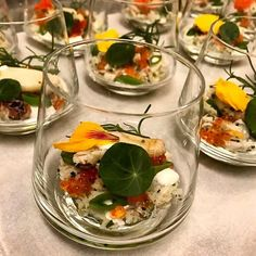 Gorgeous crab salad hors d'oeuvres from last night's Carneros Supper Club featuring @grgichhills. The next one is coming up on April 20th. Stay tuned for more details! Photo: @vafranco33 #CarnerosSupperClub #carnerosresort #winedinner #napavalley