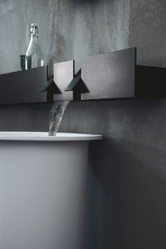 The Sen Tapware System by Curiosity for Agape | Australian Design Review   #Bathroom #Design #Interior