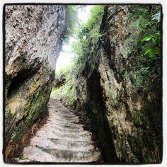 A thousand stairs, bukik apit,bukittinggi, west sumatera Indonesia