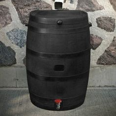 RTS Companies RTS Home Accents 50 Gallon Rain Barrel Color: Black