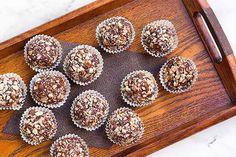 Dark Chocolate Truffles with Hazelnuts   Foodal.com