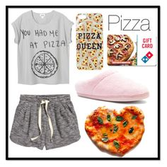 """""""#87 pizza"""" by xjet1998x ❤ liked on Polyvore featuring H&M, Tempur-Pedic, Topshop, women's clothing, women's fashion, women, female, woman, misses and juniors"""