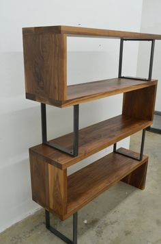 Love this shelf made by Fabitecture