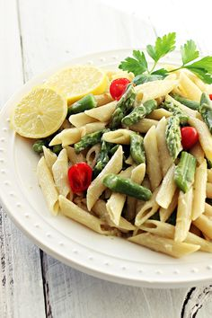 This easy penne dish, with tender asparagus and creamy, cashew-milk sauce proves that spring has definitely sprung.