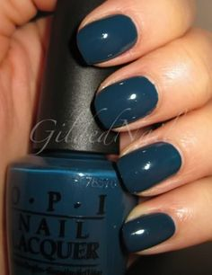 OPI Ski Teal We Drop from the Swiss Collection. Hunting for this.