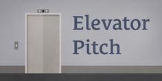 An elevator pitch http://mariabarinalive.com/smart-marketing-business/