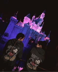 Annie Leblanc and Dylan Conrique Disneyland