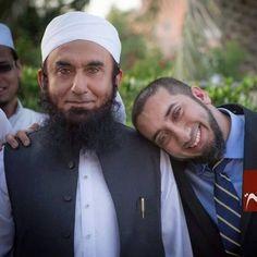 Molana Tariq Jameel and Ustadh Noman Ali Khan