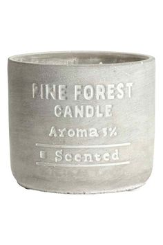 Large scented candle   H&M