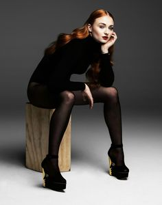 Ginger goddess Sophie Turner takes a turn in the Just Jared Spotlight  - Image 0